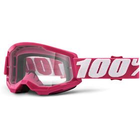 100% Strata Anti-Fog Goggles Gen2, czerwony